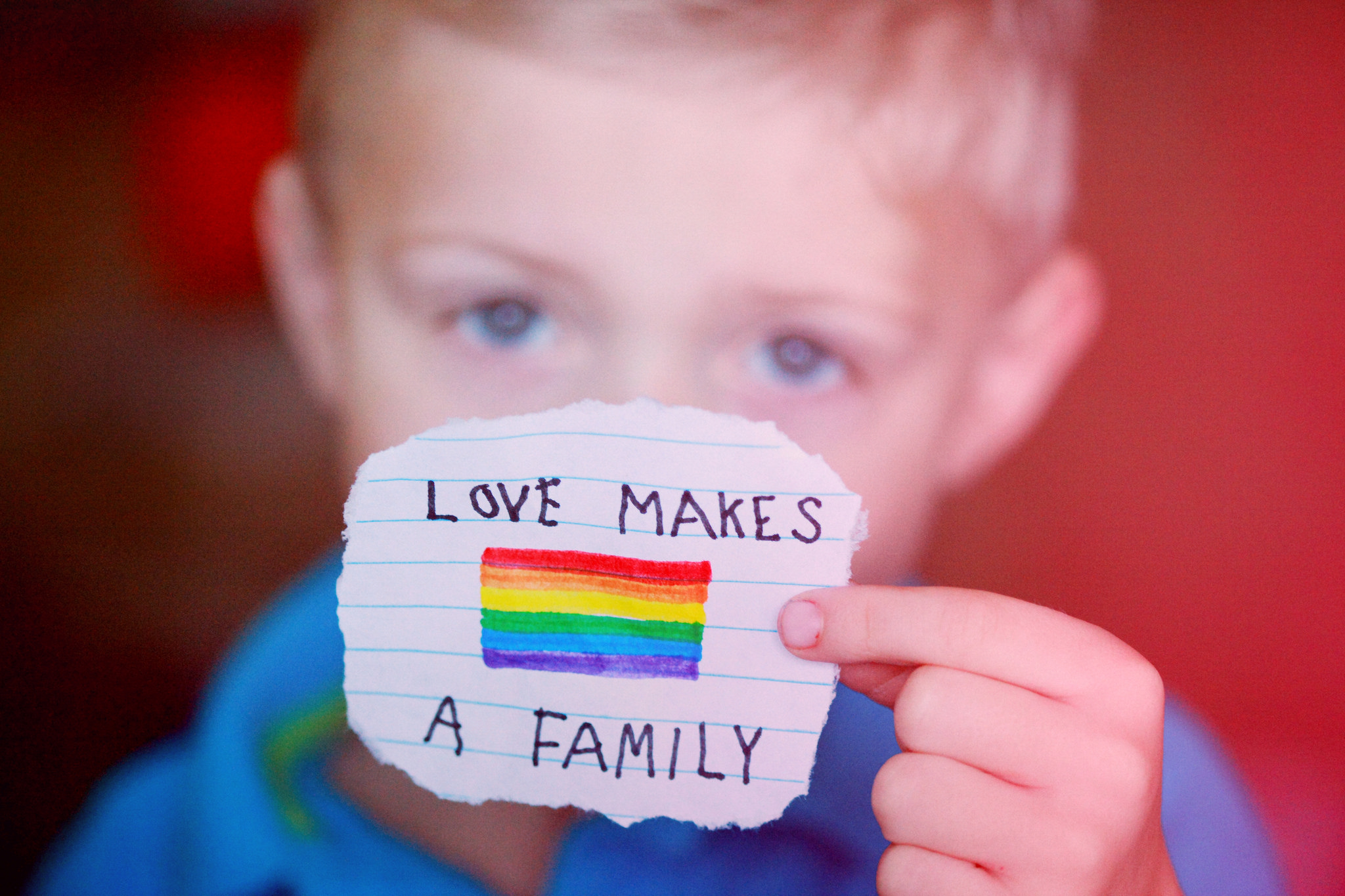 Love makes a family!